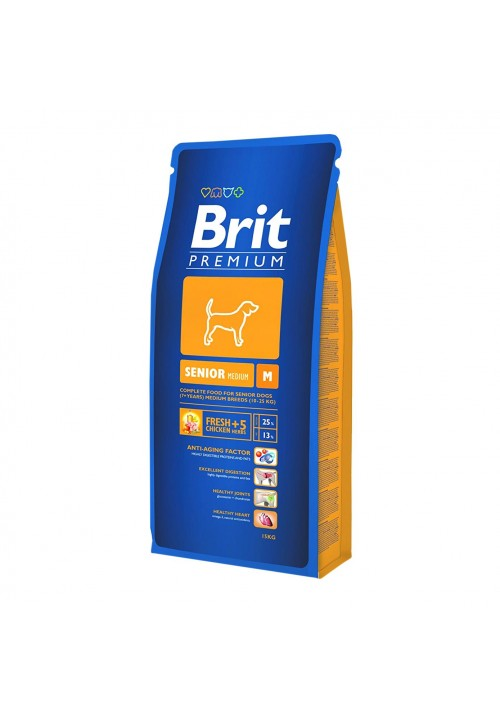 BRIT PREMIUM M SENIOR 15 kg