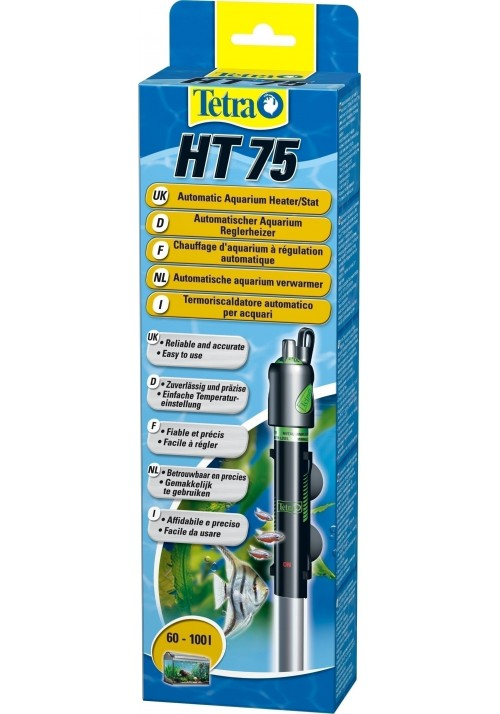 Tetra HT Aquarium Heater HT 75-grzalka 75W z reg te