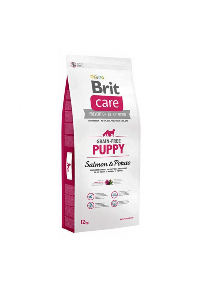 Brit Care Grain-free Puppy Salmon & Potato12